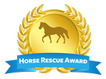 Horse Rescue Award Logo